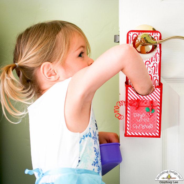 Christmas Countdown Door Hanger