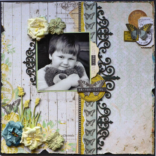 ~The Dusty Attic DT~PLUS chipboard tutorial