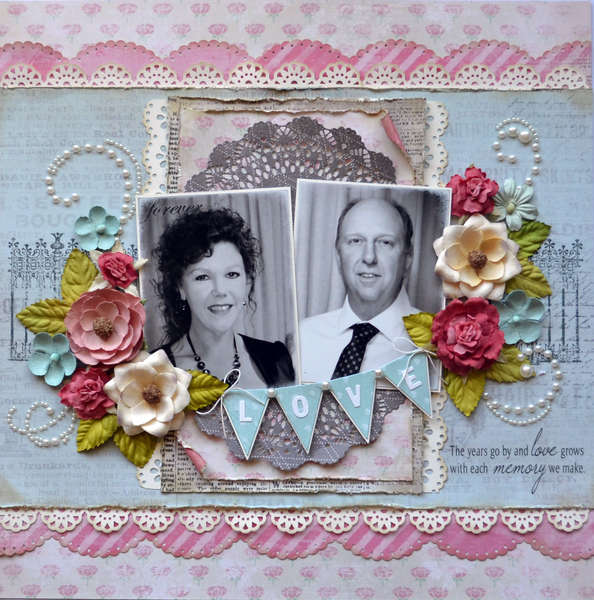 ~Published in Scrapbooking Memories Magazine Aug 2012~