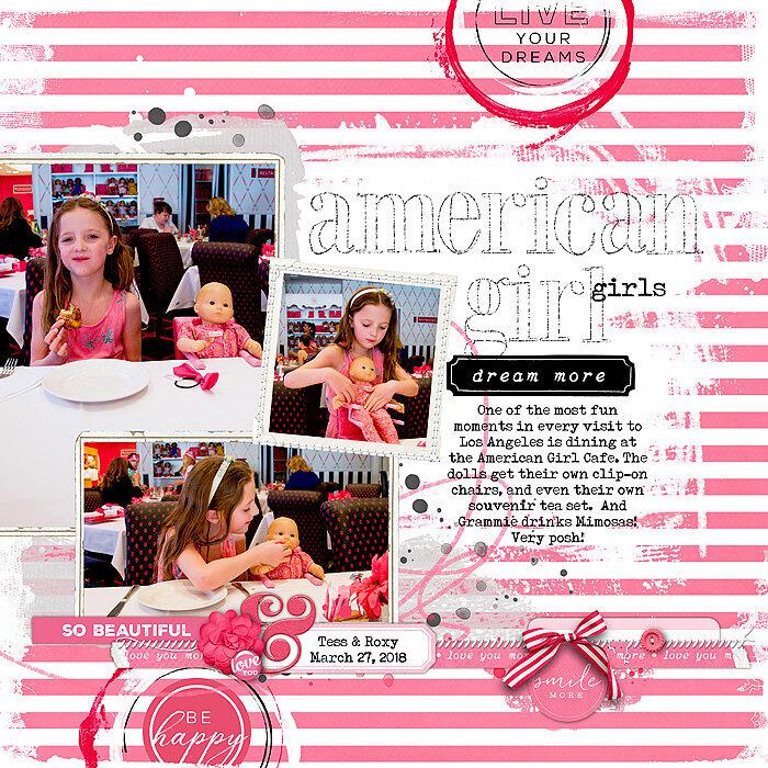 American Girl girls