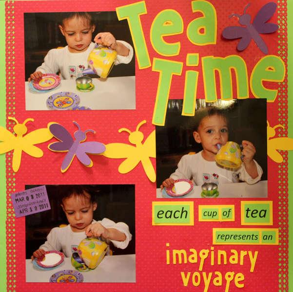 Tea Time: imaginary voyage