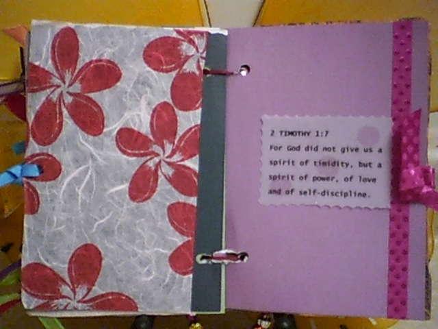 Last Page of Faith Mini Album