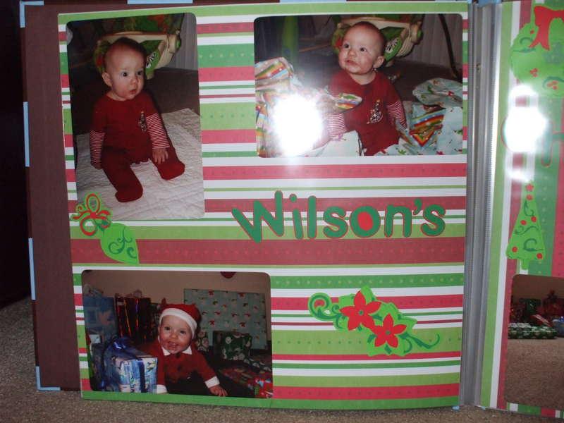 Wilson's 1st Christmas 1