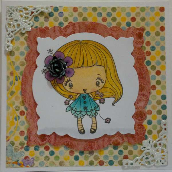 Card for Wild Orchid Crafts Challenge