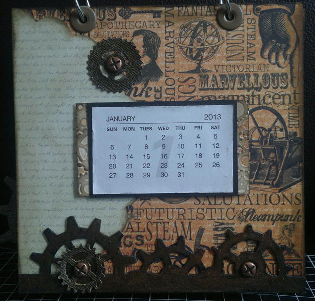 Jan page of Chronology Calender