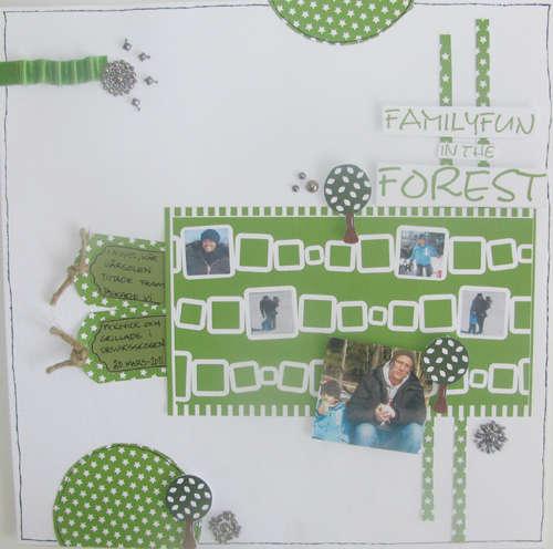 Familyfun in the forest
