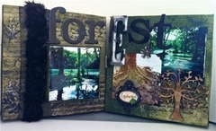 Enchanted Forest Canvas