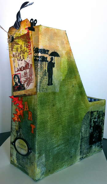 Create Yourself Art ~ Altered Paper Holder ~