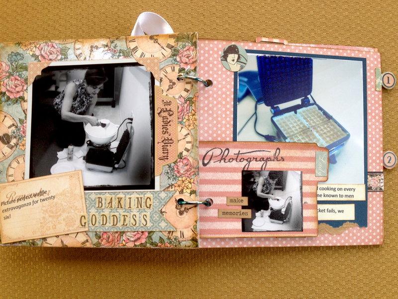 Baking Goddess mini with Ladies Diary