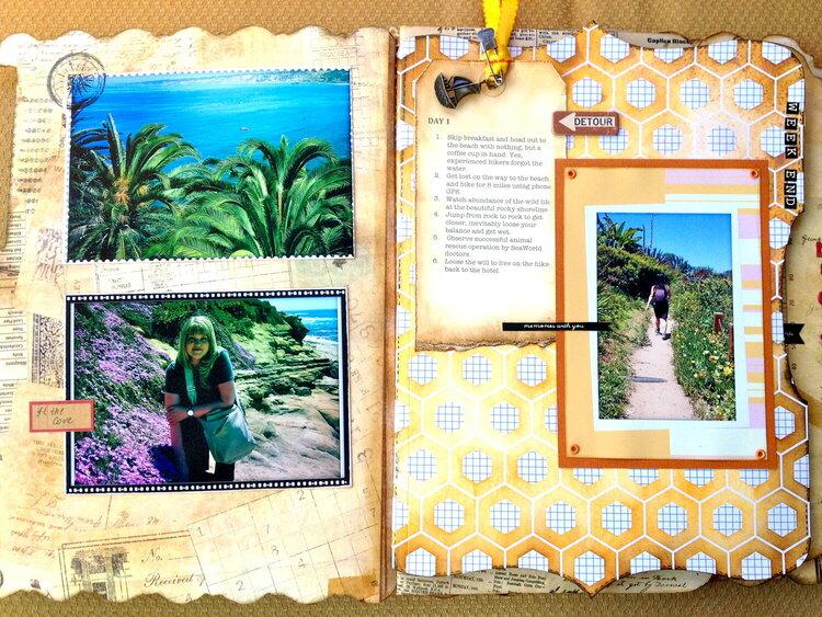 La Jolla - Week end on the Board Walk