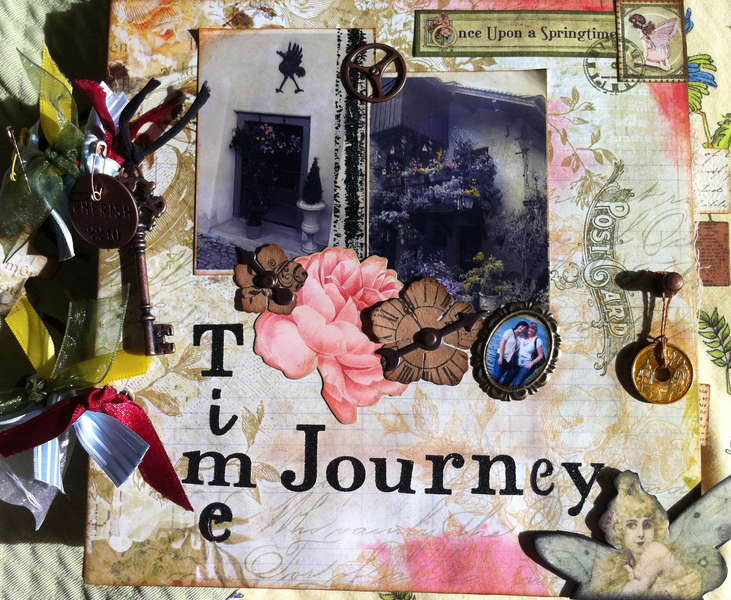 Time journey mini albom