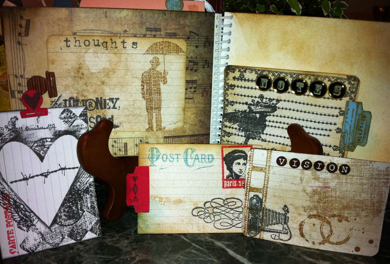 2011 brag mini albom Part II - journaling tags