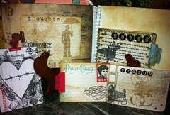 2011 brag mini albom Part II - journaling tags