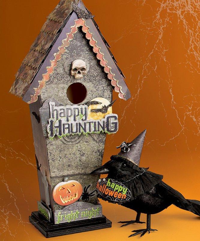 Halloween Birdhouse