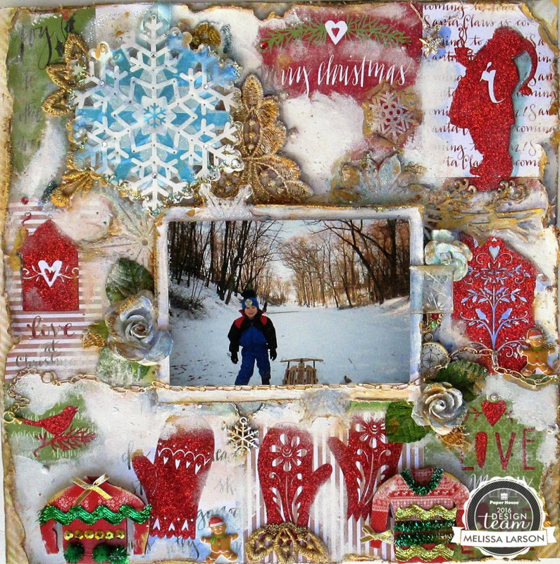Merry Christmas 2016 Layout