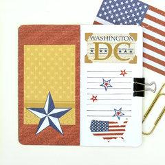 Washington DC Travelers Notebook