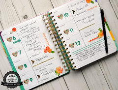 Live Bold Planner Spread