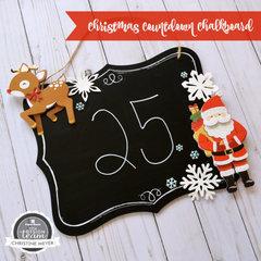 Christmas Countdown Chalkboard