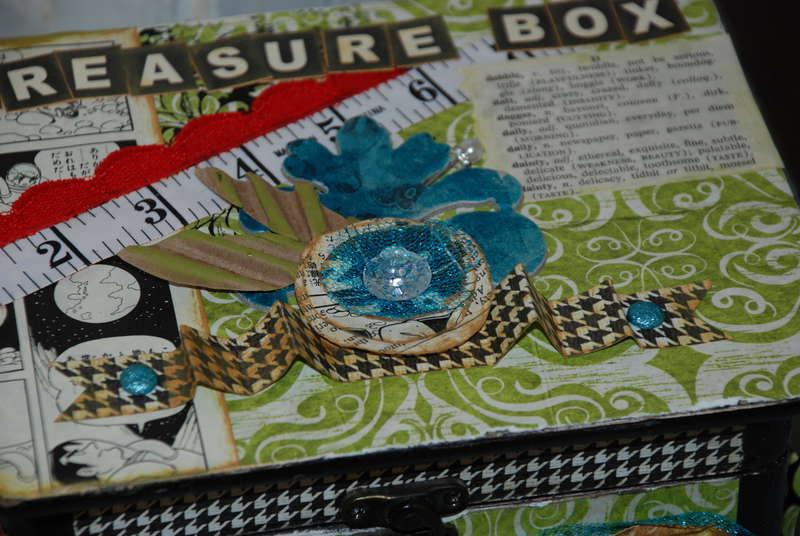 Treasure box - altered art