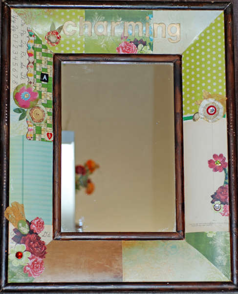 Charming Mirror - altered art