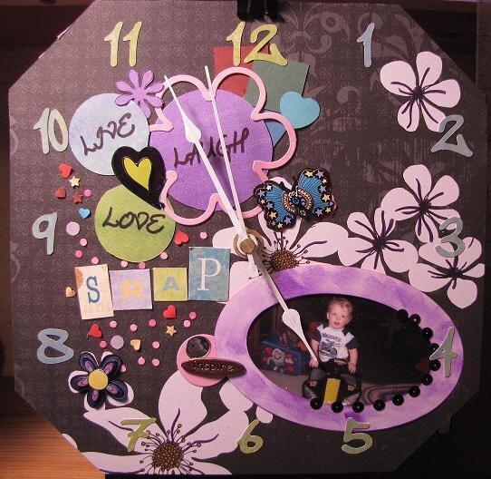 Scraproom Clock