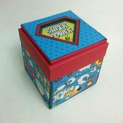 Exploding Superhero box