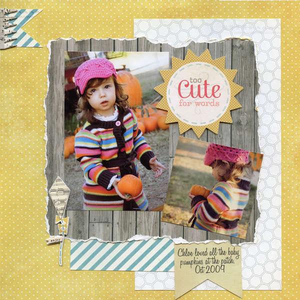 Chloe - pumpkin patch