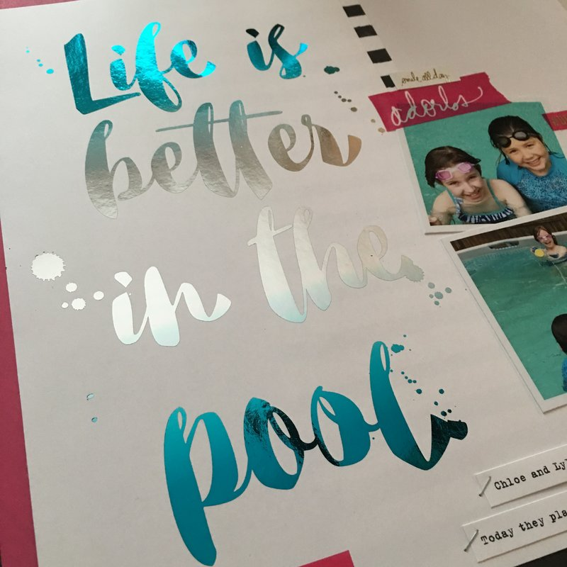 Life is Better in the Pool