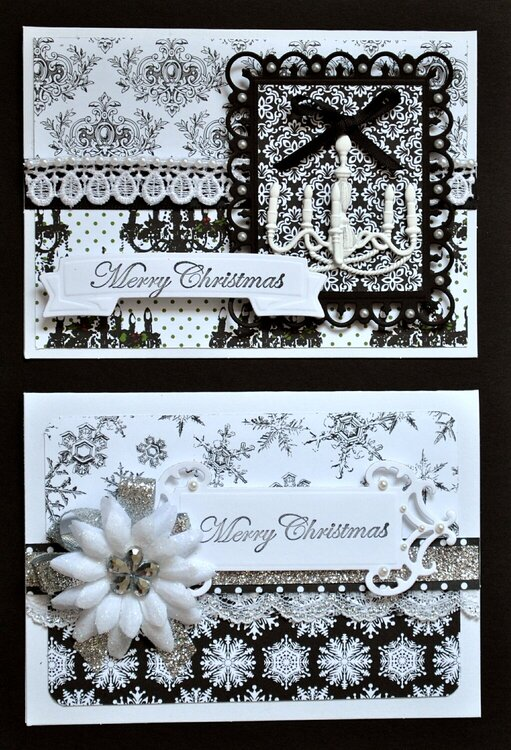 Christmas Cards 1 & 2