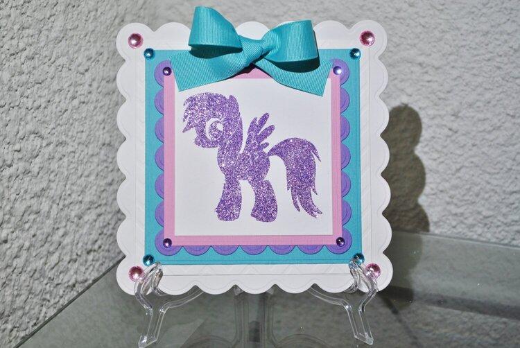 Rainbow Dash My Little Pony Card 1