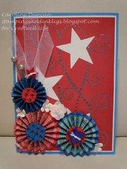 Design Team: Caroline Duncan/ Patriotic Card