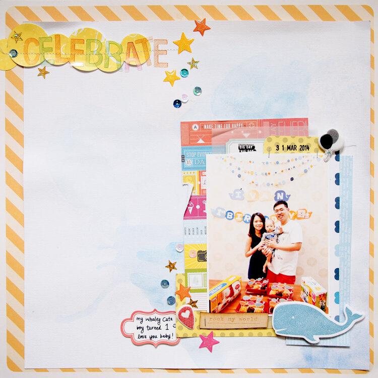 Design Team: Sam (Wai Sam) 'Celebrate'