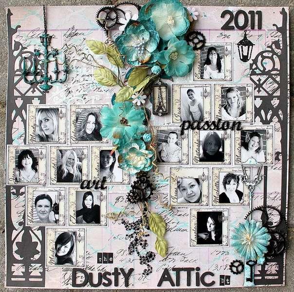 "The Dusty Attic Designteam 2011 - ""art&passion"""