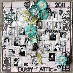 The Dusty Attic Designteam 2011 -