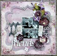 Friends **Pion Design & Dusty Attic**