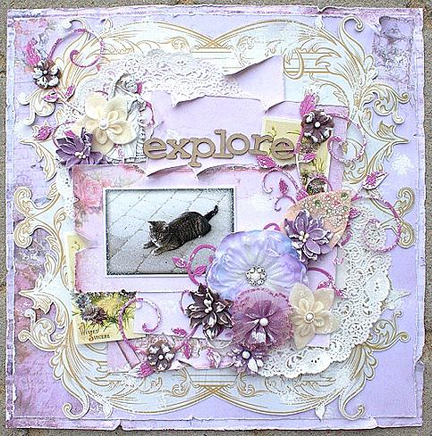 Explore **Scraps of Elegance November kit**