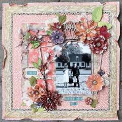 Your weddingday **Petaloo & Graphic 45**