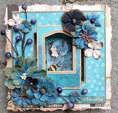 A frame **Petaloo & Graphic 45**