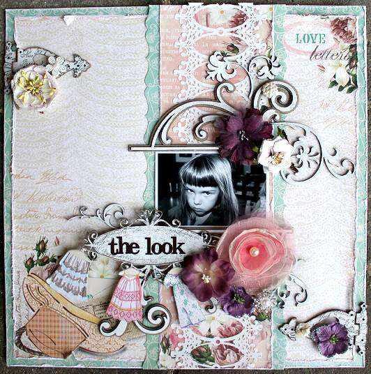 The Look **Dusty Attic & Websters pages**