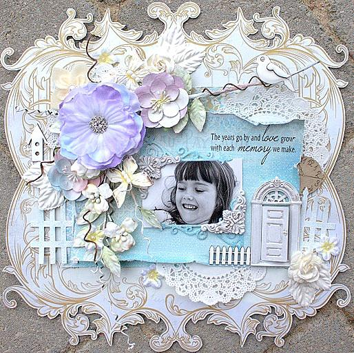 The years go by **Scraps of Elegance November kit**