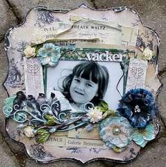 Vacker (Beautiful) **Scrap That! November kit**