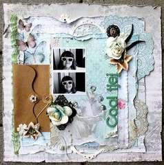 Cool girl **Petaloo & May Arts**