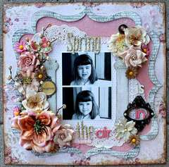 Spring is in the air **Dusty Attic & Pion Design**