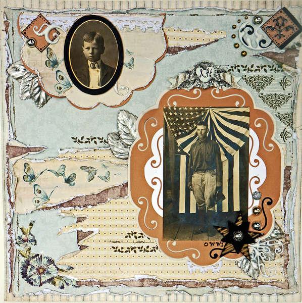 Grandpa 1905/1920 ** Scraps of Elegance** Nostalgia Sep12