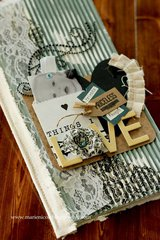 Recollections Mixed Media Journal