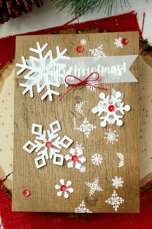 Snowy Christmas Card