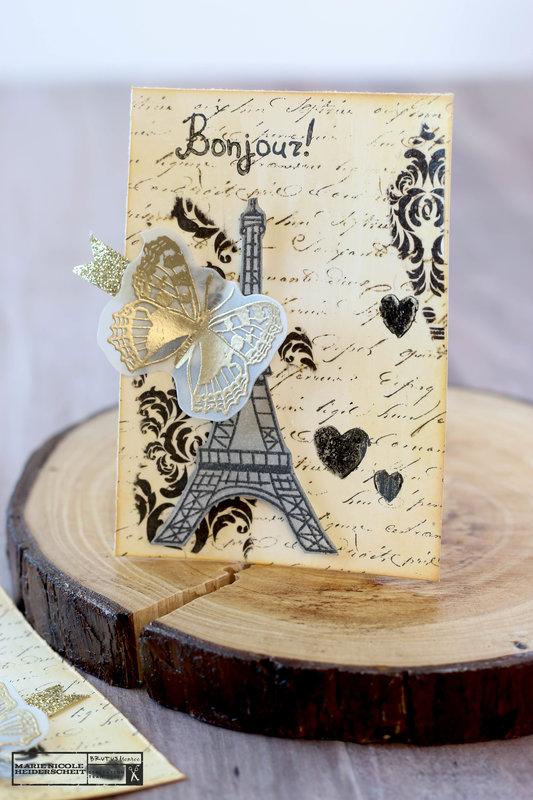 Paris Inspired ATC