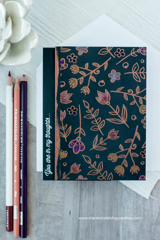 Floral Embossed Card