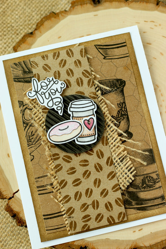For You- Coffee Themed card