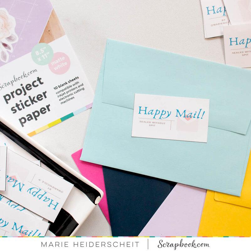Envelope Stickers